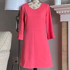SALE💐Maison Jules🛍Med  pink dress bell sleeves